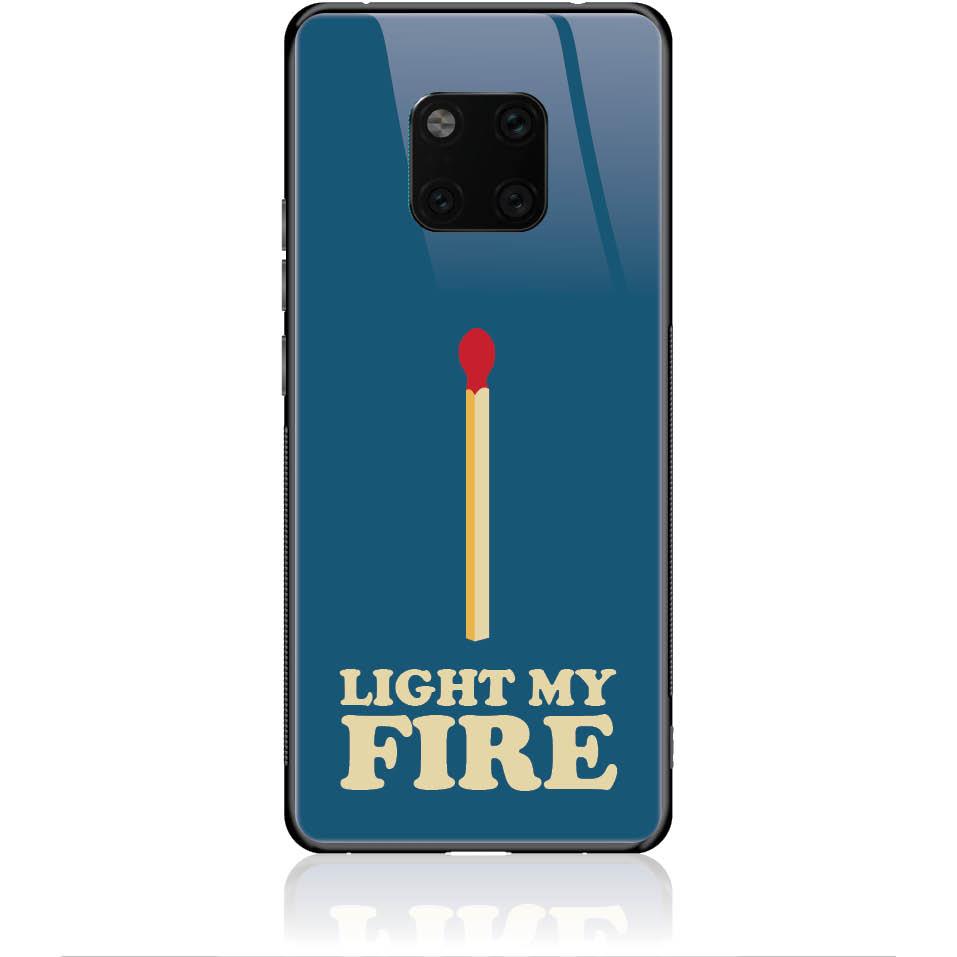 Case Design 50027  -  Huawei Mate 20 Pro  -  Tempered Glass Case