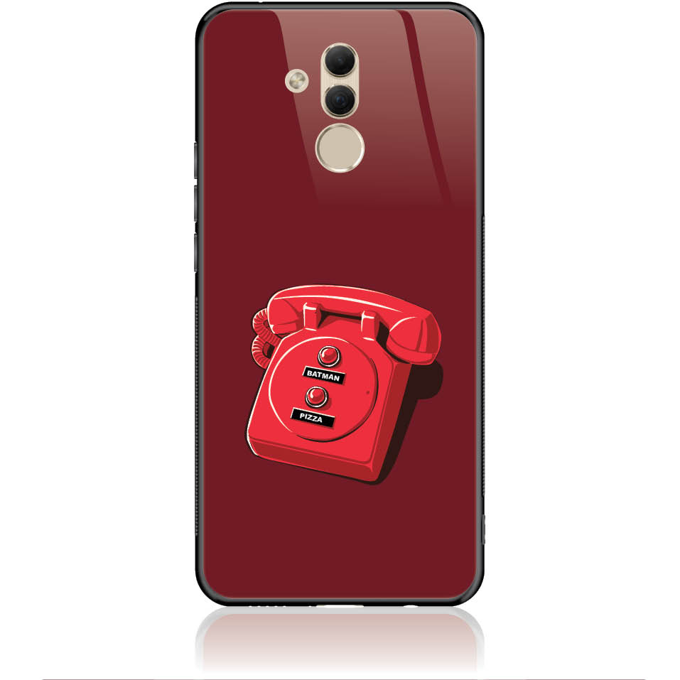 Retro Is Back Phone Case Design 50095  -  Huawei Mate 20 Lite  -  Tempered Glass Case