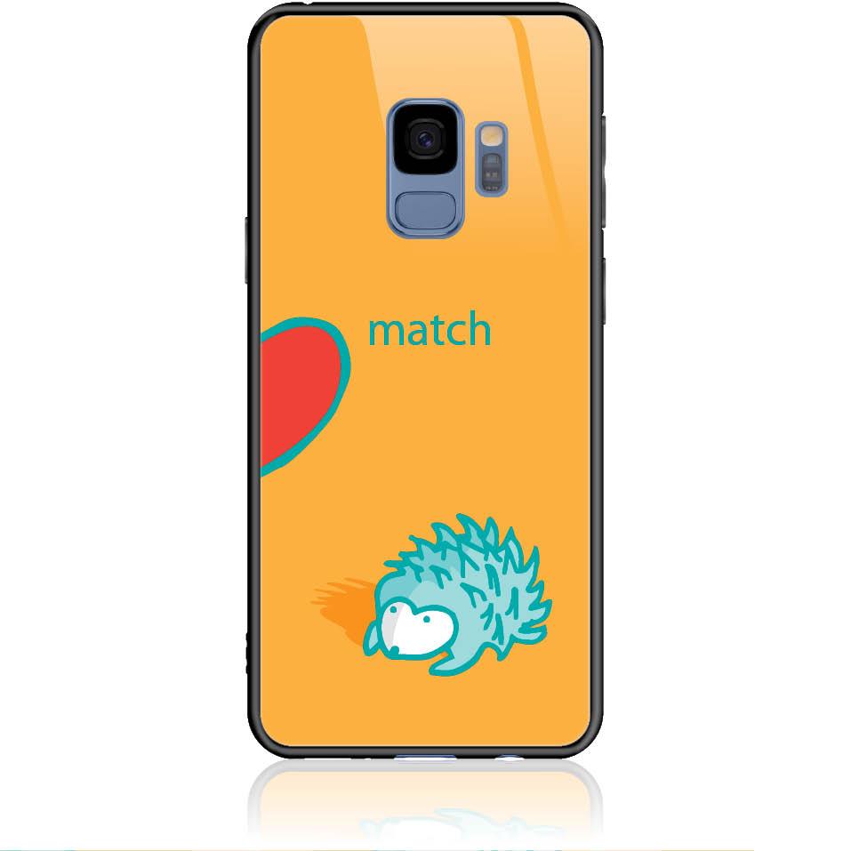 Case Design 50250  -  Samsung Galaxy S9  -  Tempered Glass Case