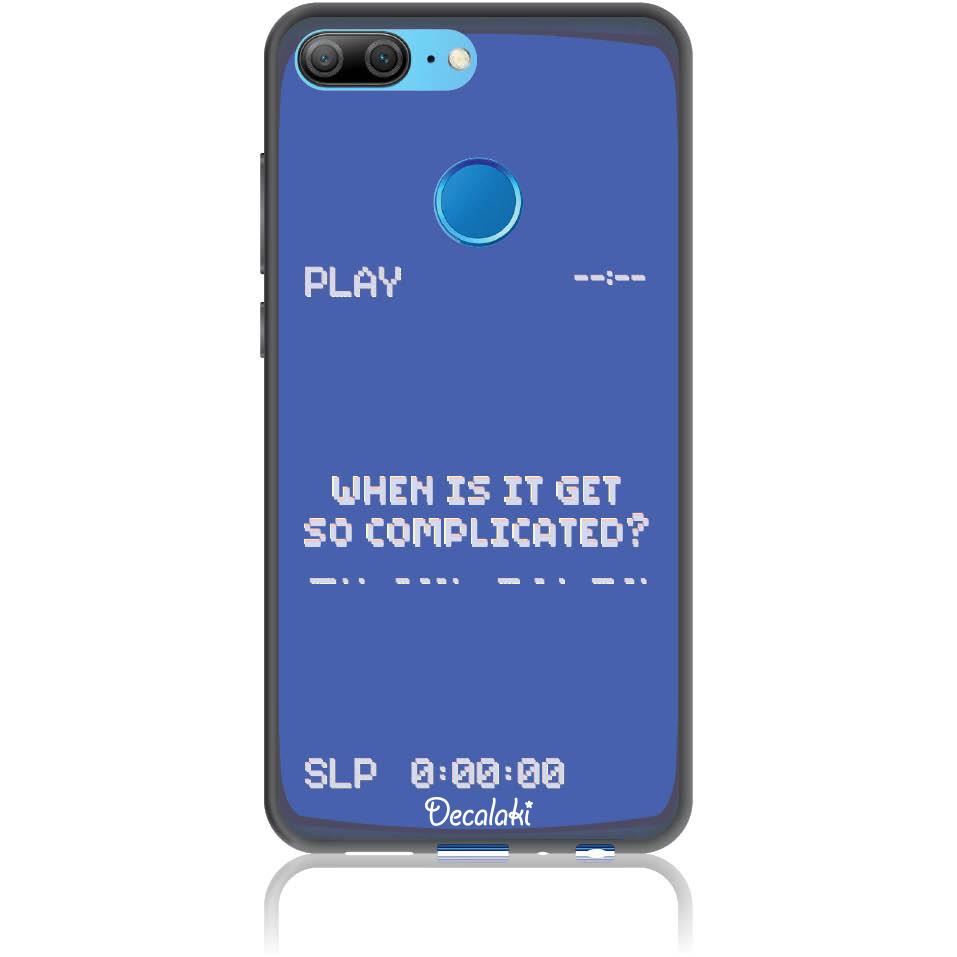 Play The Game 90s Retro Phone Case Design 50412  -  Honor 9 Lite  -  Soft Tpu Case