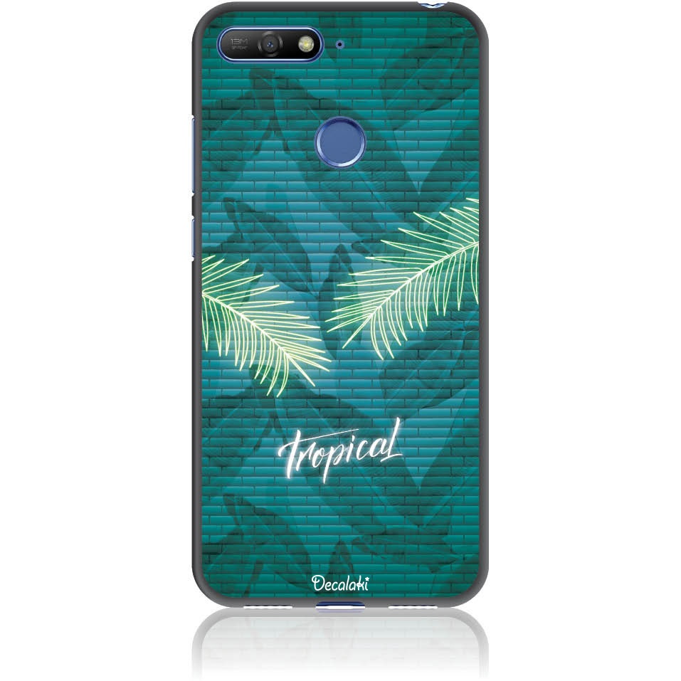 Tropical Bomb Phone Case Design 50423  -  Huawei Y6 Prime 2018  -  Soft Tpu Case