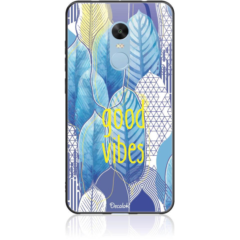 Blue Yoga Phone Case Design 50418  -  Xiaomi Redmi Note 4 -