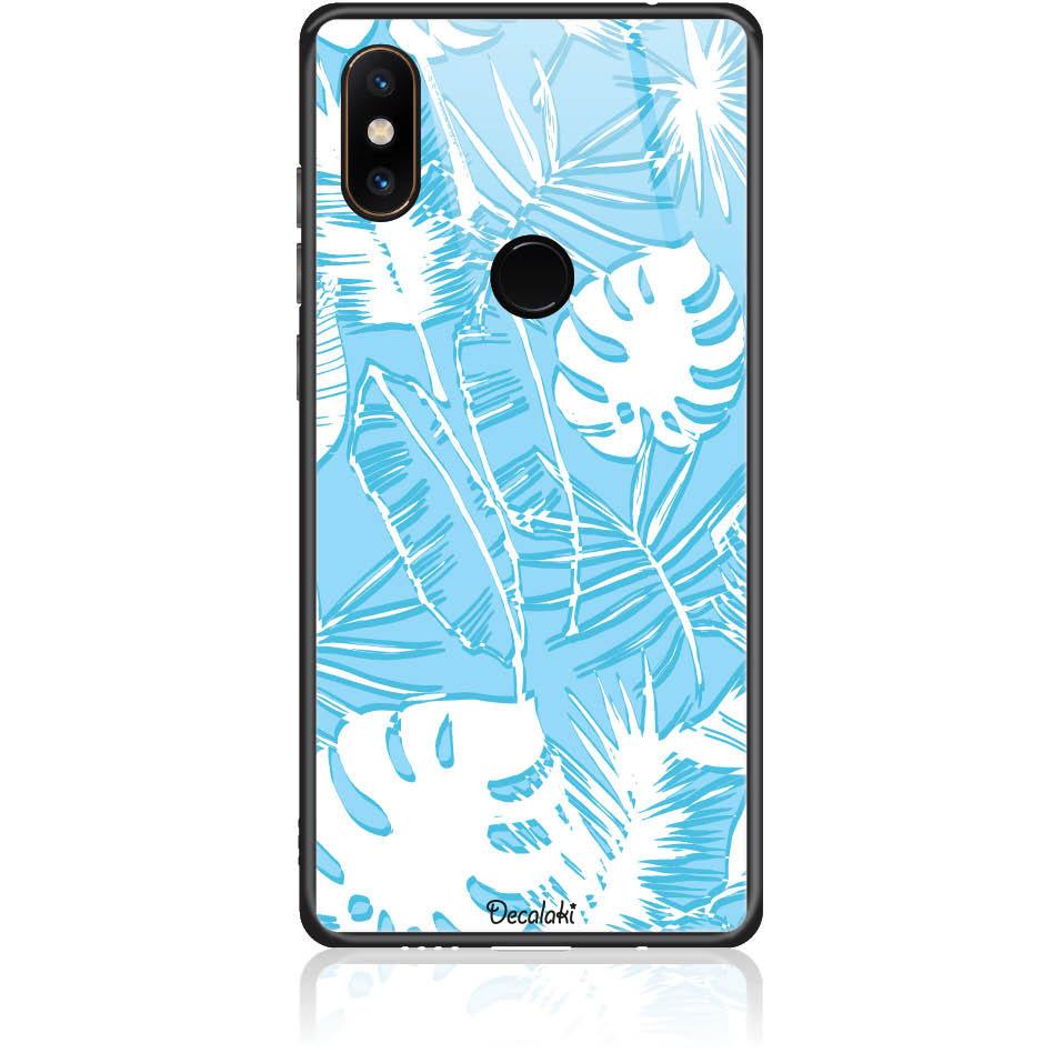 Blue Orgasm Phone Case Design 50422  -  Xiaomi Mi Mix 2s  -  Tempered Glass Case