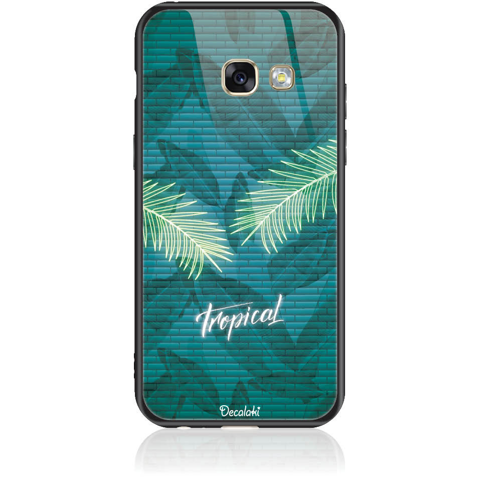 Tropical Bomb Phone Case Design 50423  -  Samsung Galaxy A3 (2017)  -  Tempered Glass Case