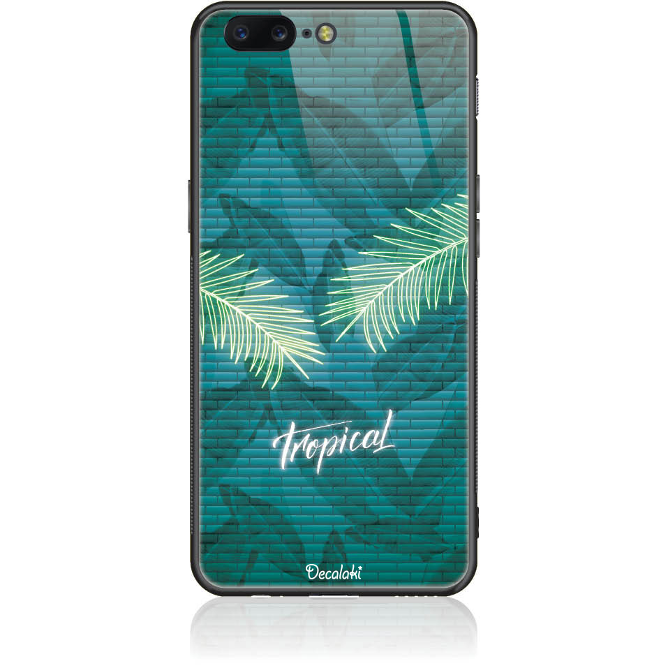 Tropical Bomb Phone Case Design 50423  -  One Plus 5  -  Tempered Glass Case