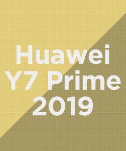 Customize Huawei Y7 (2019)