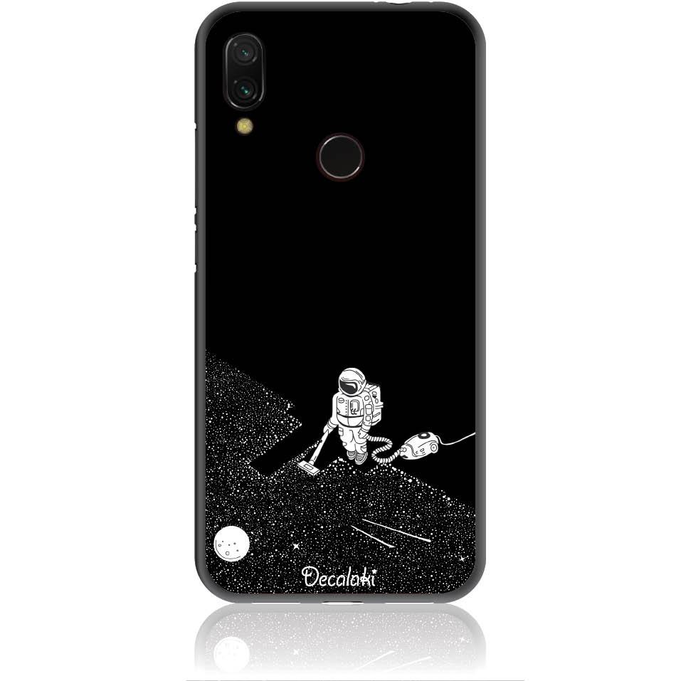 Space Vacuum Phone Case Design 50003  -  Xiaomi Redmi Note 7 Pro  -  Soft Tpu Case