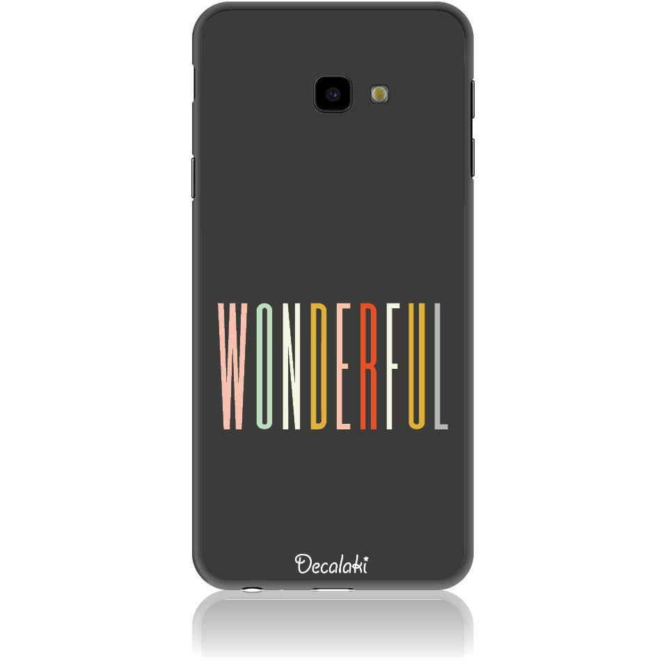 Case Design 50091  -  Samsung J4 Plus  -  Soft Tpu Case