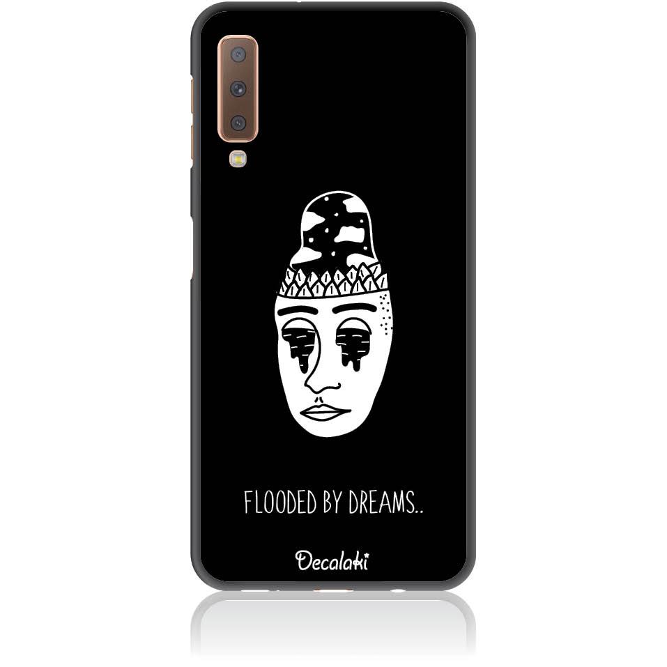 Flooded By Dreams Phone Case Design 50101  -  Samsung A7 2018 (a750)  -  Soft Tpu Case