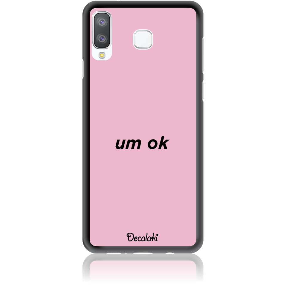 Case Design 50114  -  Samsung A8 Star  -  Soft Tpu Case