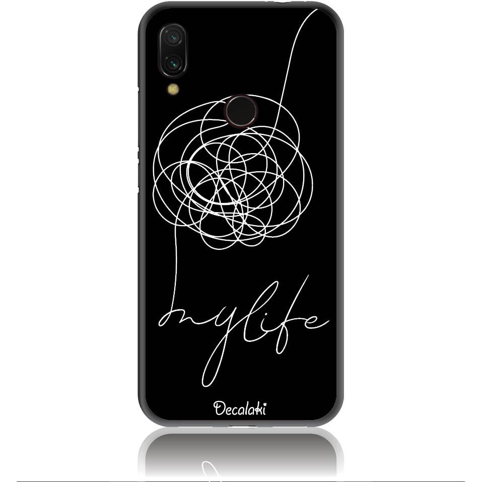 Life Is A Mess Phone Case Design 50150  -  Xiaomi Redmi Note 7  -  Soft Tpu Case