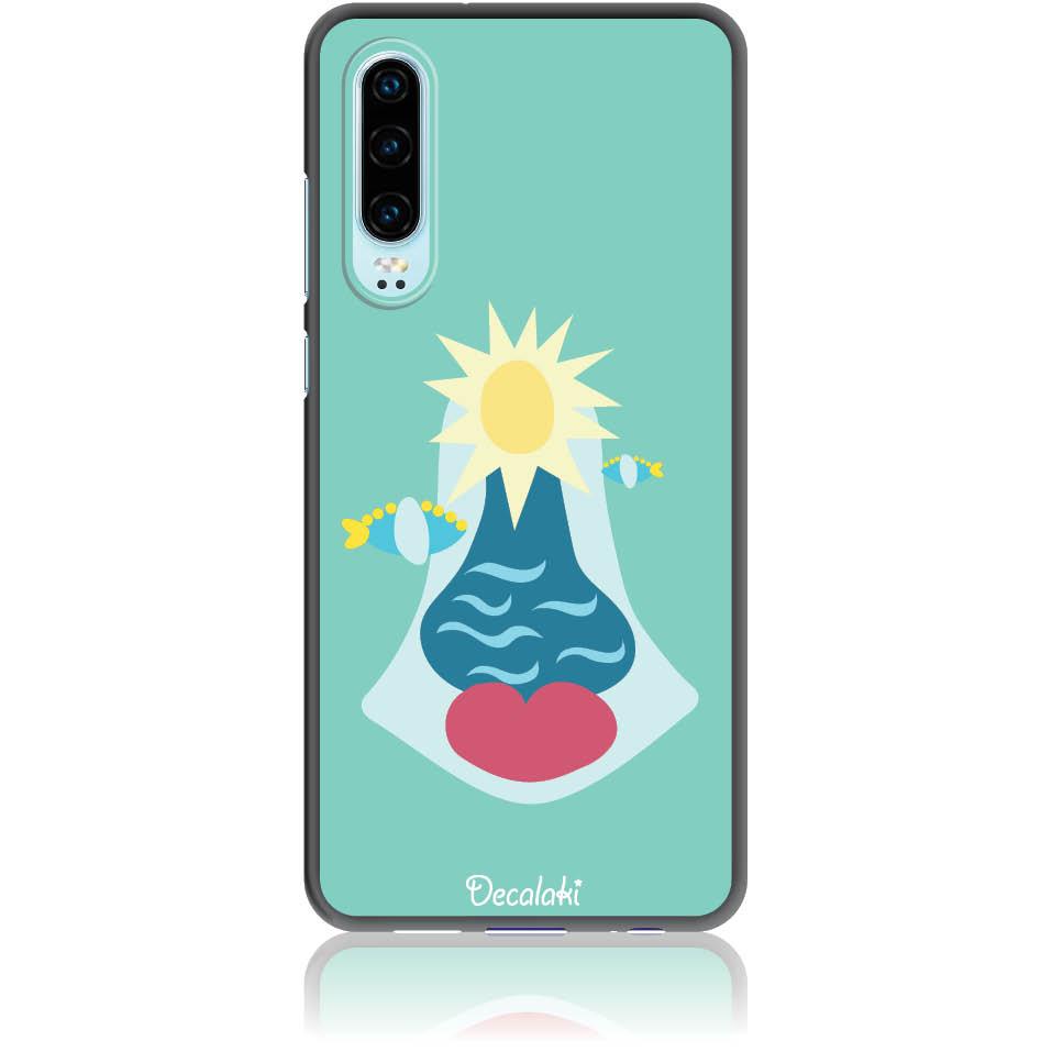 Summer Queen Phone Case Design 50167  -  Huawei P30  -  Soft Tpu Case