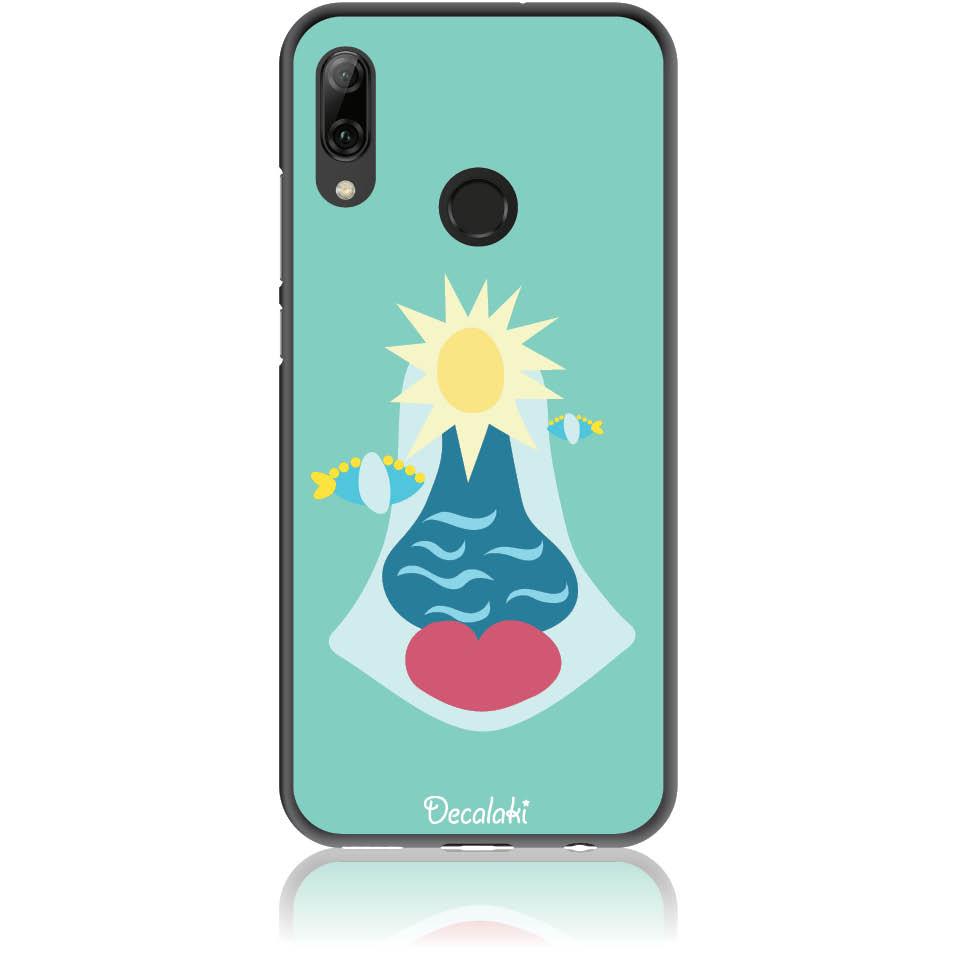 Summer Queen Phone Case Design 50167  -  Huawei P Smart Plus  -  Soft Tpu Case