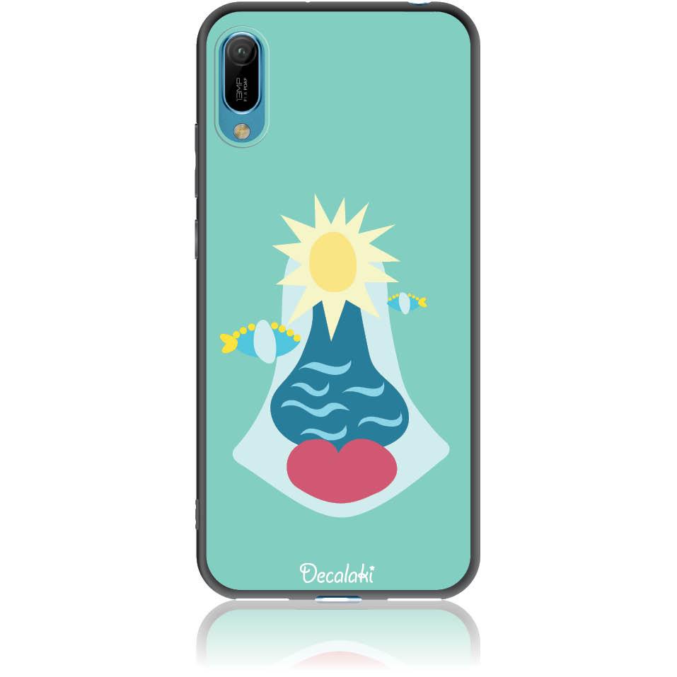 Summer Queen Phone Case Design 50167  -  Huawei Y6 Pro 2019  -  Soft Tpu Case