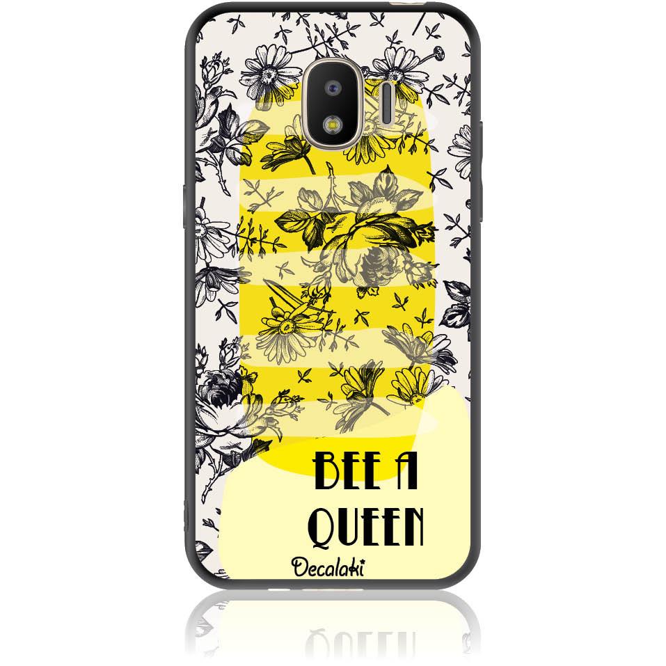 Bee A Queen Phone Case Design 50169  -  Samsung J2 Pro (2018)  -  Soft Tpu Case