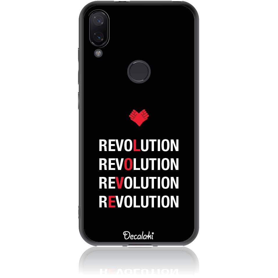 Love Revolution Phone Case Design 50230  -  Xiaomi Mi Play  -  Soft Tpu Case