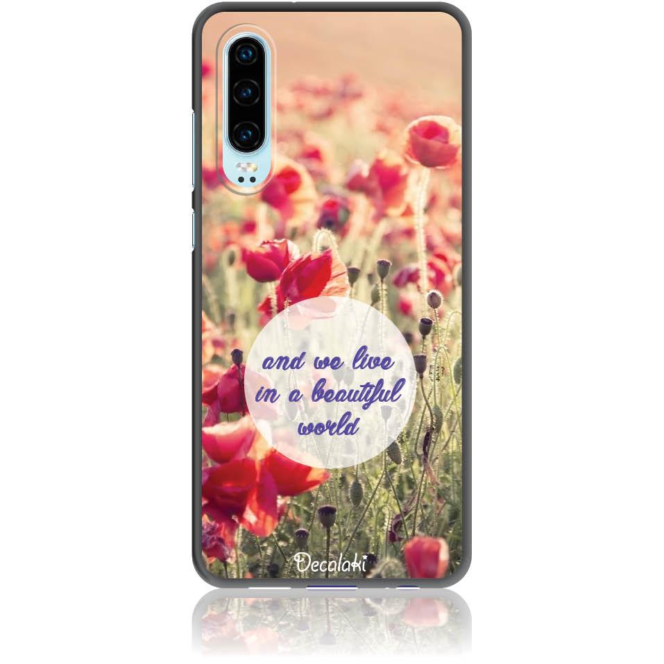 Case Design 50231  -  Huawei P30  -  Soft Tpu Case