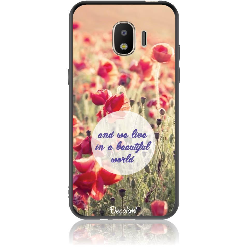 Case Design 50231  -  Samsung J2 Pro (2018)  -  Soft Tpu Case