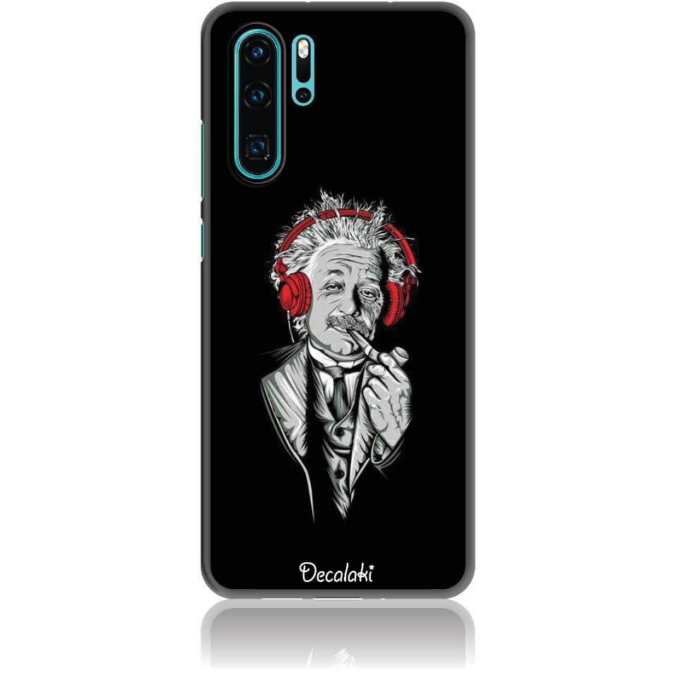 Funky Cool Einstein Phone Case Design 50260  -  Huawei P30 Pro  -  Soft Tpu Case