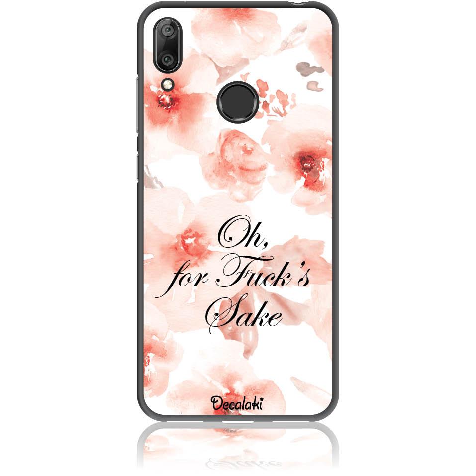 Fuck's Shake Phone Case Design 50263  -  Huawei Y7 2019  -  Soft Tpu Case