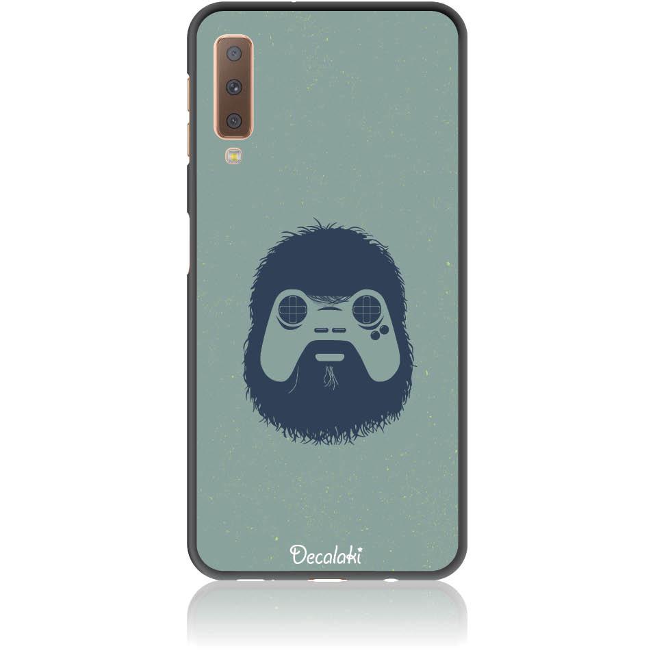 Game Face On Phone Case Design 50299  -  Samsung A7 2018 (a750)  -  Soft Tpu Case