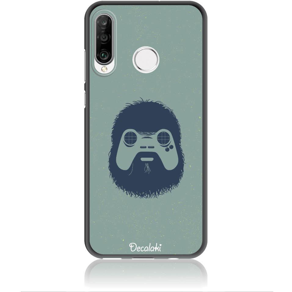 Game Face On Phone Case Design 50299  -  Huawei Nova 4e  -  Soft Tpu Case
