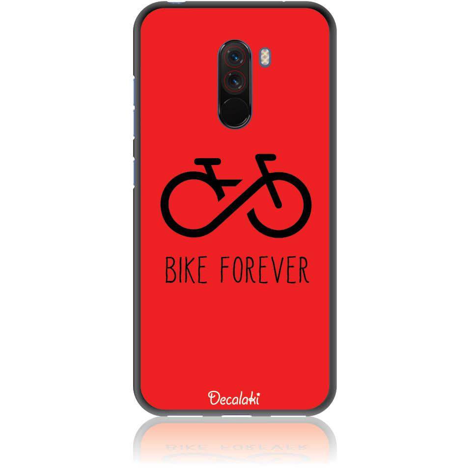 Forever Bike Phone Case Design 50304  -  Xiaomi Pocophone F1  -  Soft Tpu Case