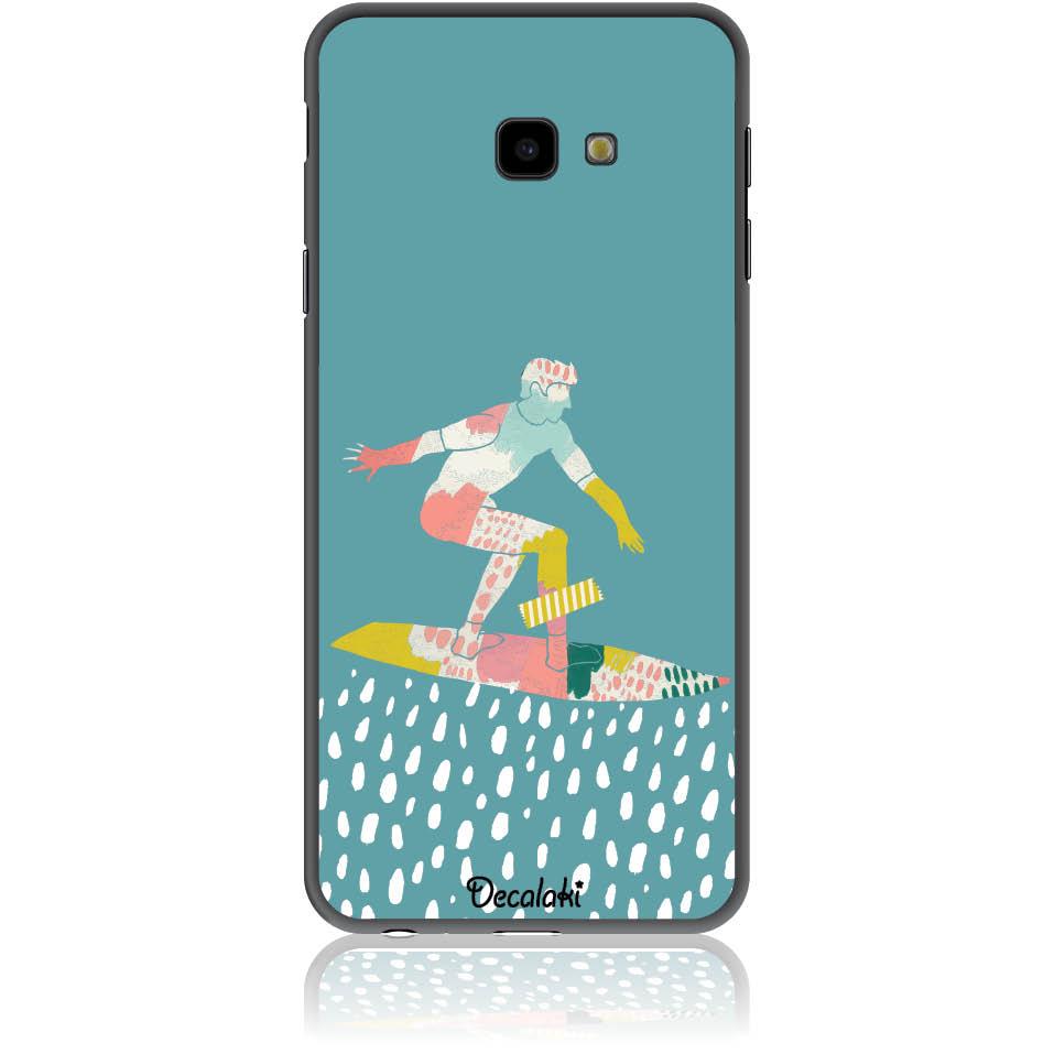 Surf Boy Phone Case Design 50305  -  Samsung J4 Plus  -  Soft Tpu Case