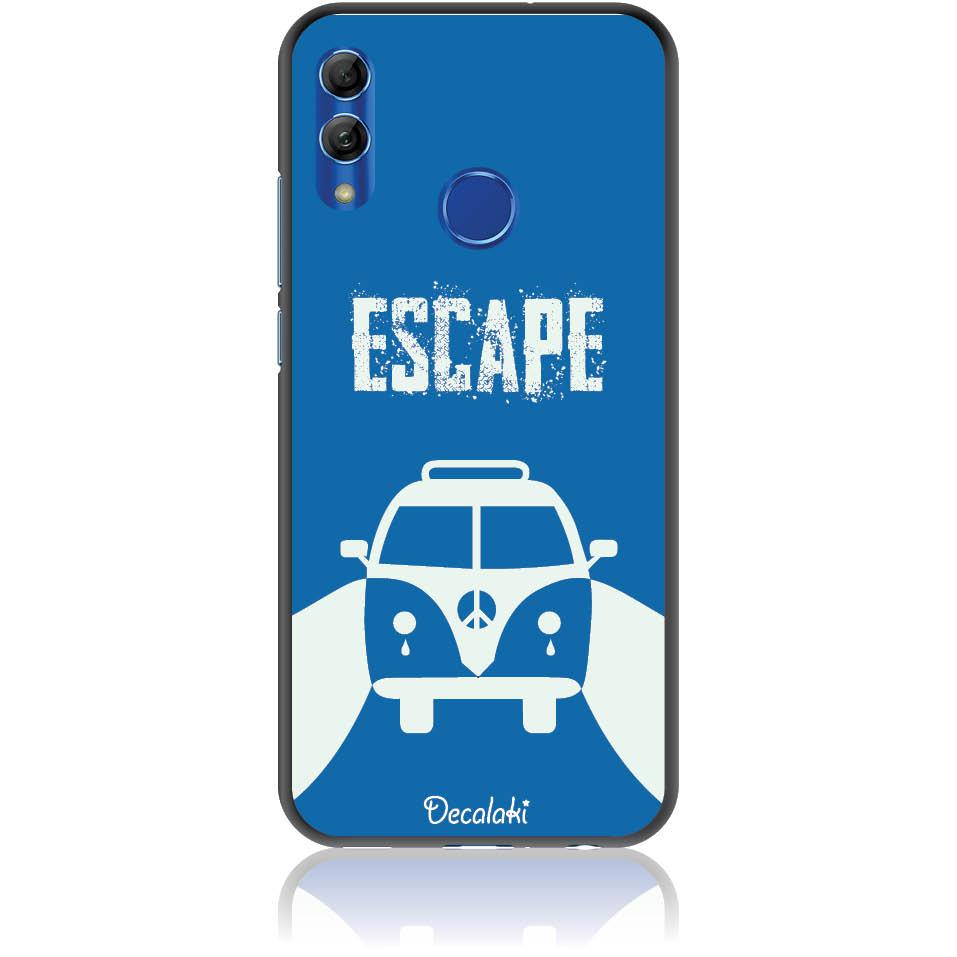 Escape For Life Phone Case Design 50314  -  Honor 10 Lite  -  Soft Tpu Case