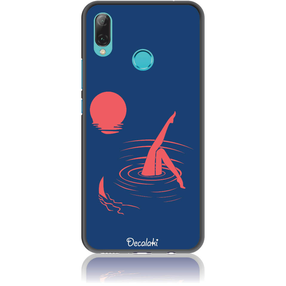 Take Risk Stay Humble Blue Phone Case Design 50331  -  Huawei Nova 3i  -  Soft Tpu Case