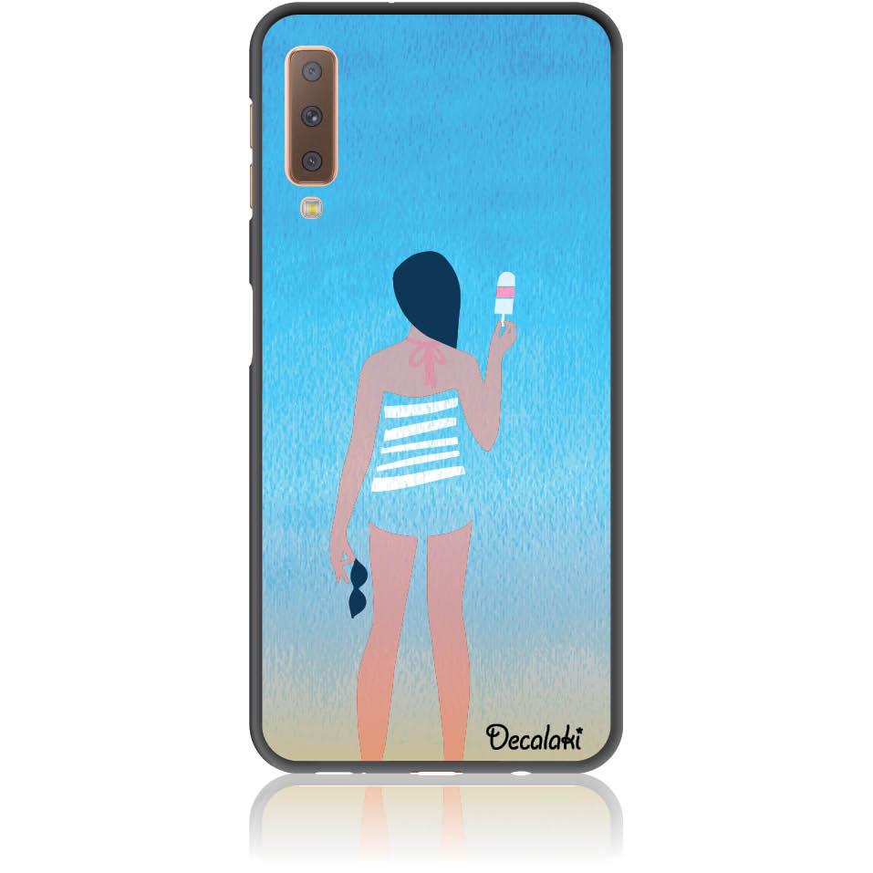 Delicious Summer Phone Case Design 50332  -  Samsung A7 2018 (a750)  -  Soft Tpu Case
