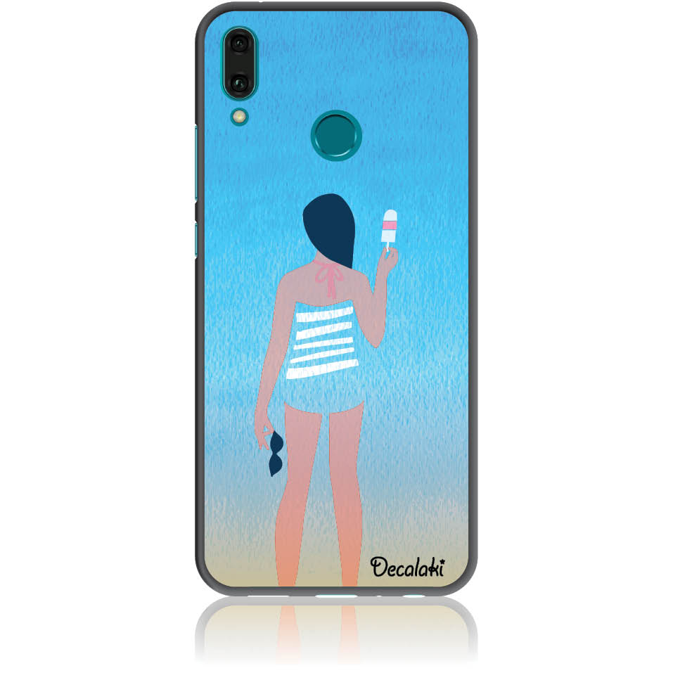 Delicious Summer Phone Case Design 50332  -  Huawei Y9 2019  -  Soft Tpu Case