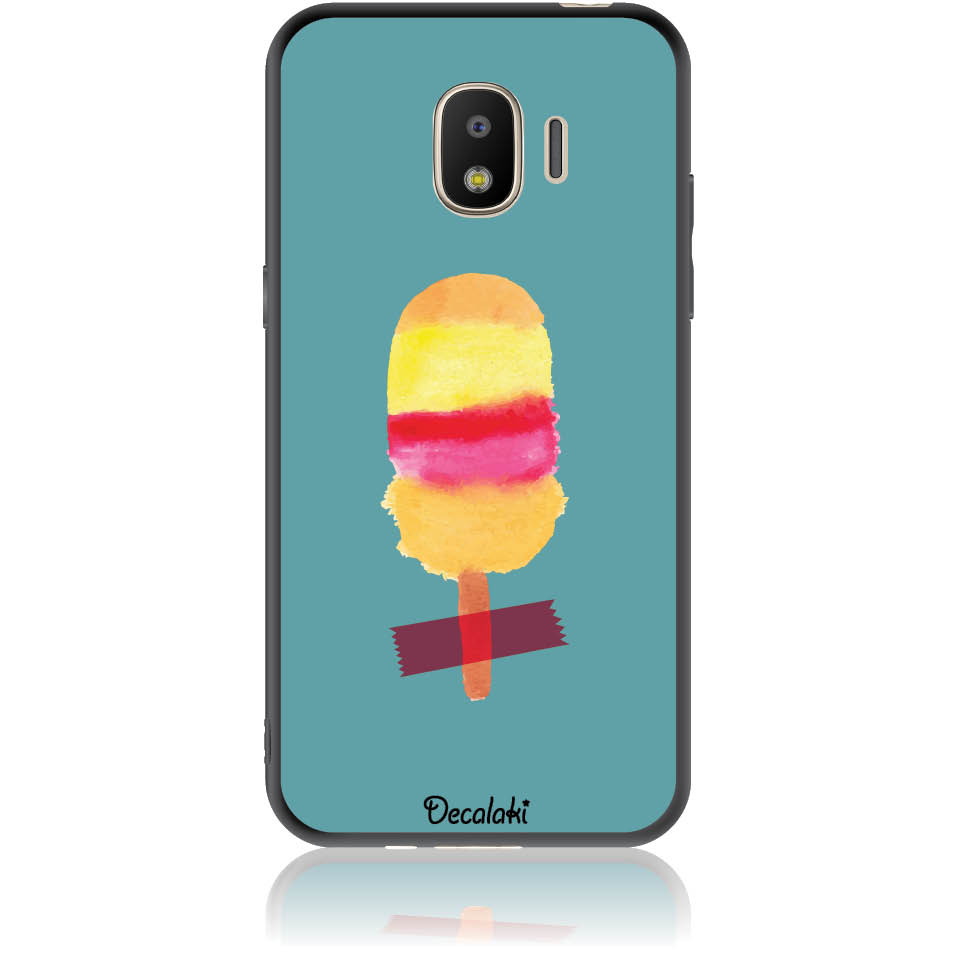 Sweet Summer Stuck Phone Case Design 50334  -  Samsung J2 Pro (2018)  -  Soft Tpu Case