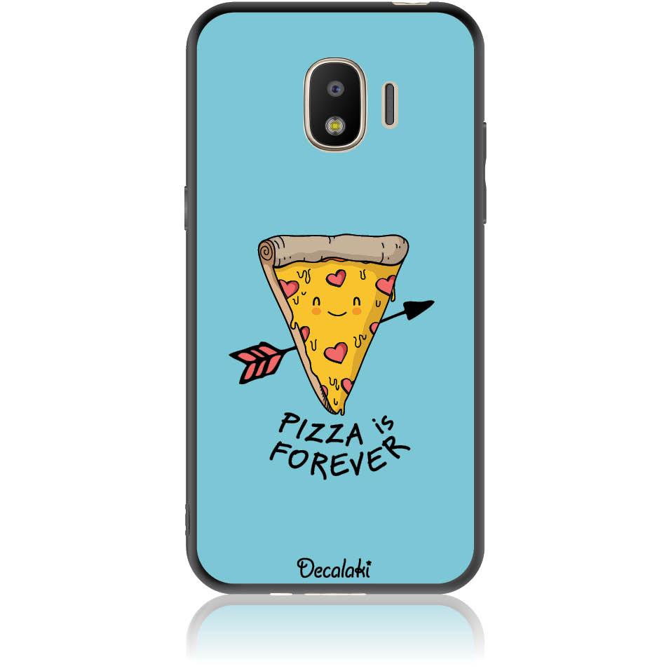 Pizza Is Forever Phone Case Design 50340  -  Samsung J2 Pro (2018)  -  Soft Tpu Case