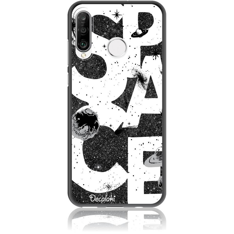Space Art Phone Case Design 50375  -  Huawei Nova 4e  -  Soft Tpu Case