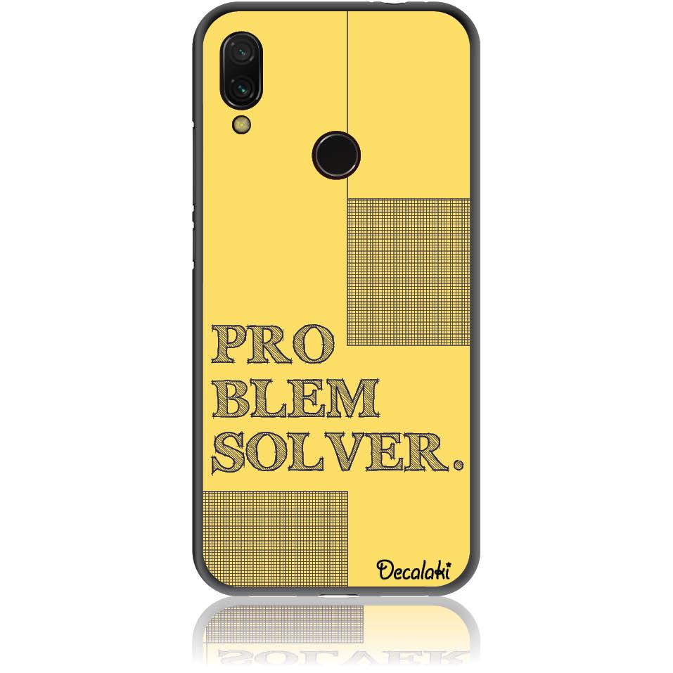 Problem Solver Phone Case Design 50381  -  Xiaomi Redmi Note 7  -  Soft Tpu Case