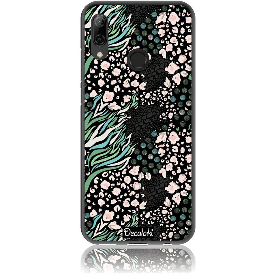 Black Harmony Phone Case Design 50421  -  Huawei P Smart (2019)  -  Soft Tpu Case