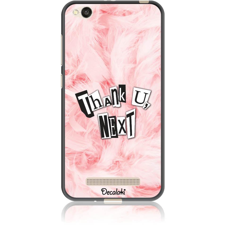 Thank U,  Next Phone Case Design 50427  -  Xiaomi Redmi 4a  -  Soft Tpu Case