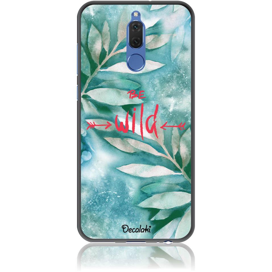 Be Wild Phone Case Design 50428  -  Huawei Mate 10 Lite  -  Soft Tpu Case