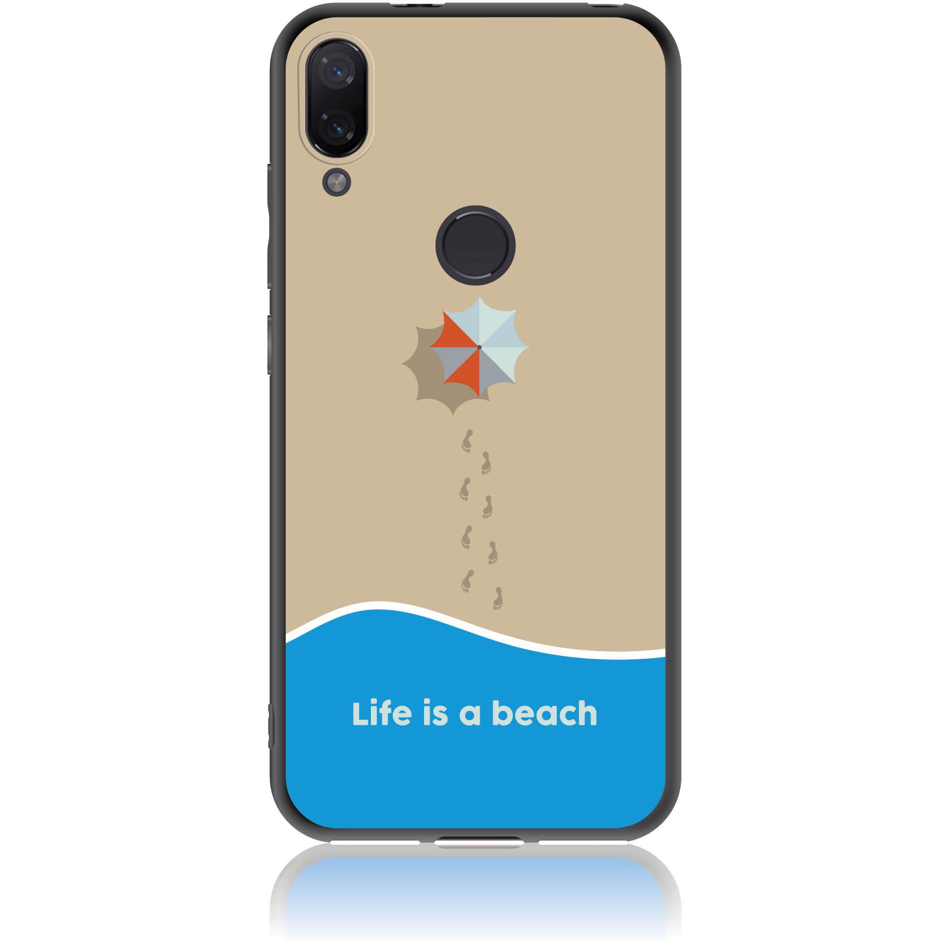 Life Is A Beach Phone Case Design 50430  -  Xiaomi Mi Play  -  Soft Tpu Case
