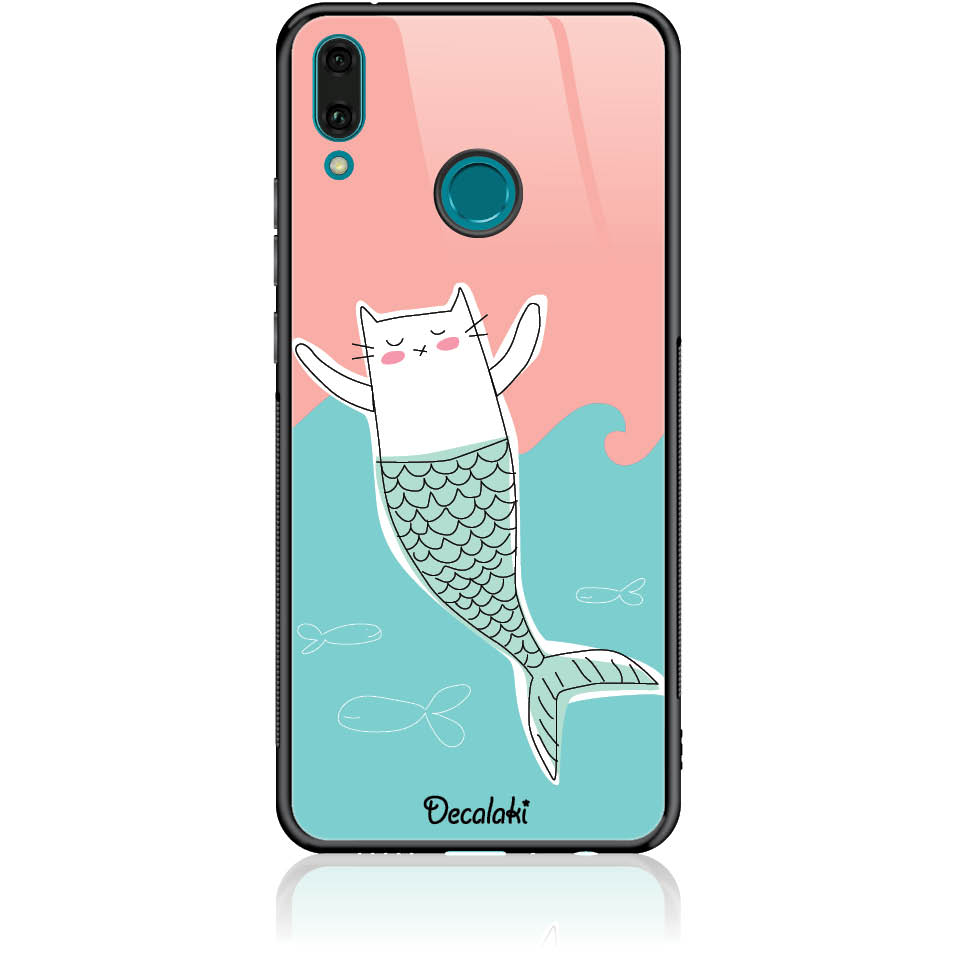 Case Design 50082  -  Huawei Y9 2019  -  Tempered Glass Case