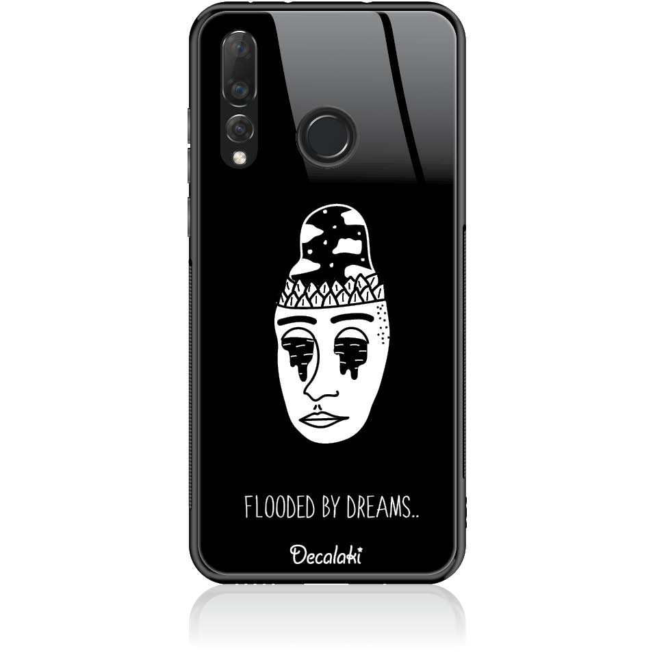 Flooded By Dreams Phone Case Design 50101  -  Huawei Nova 4  -  Tempered Glass Case