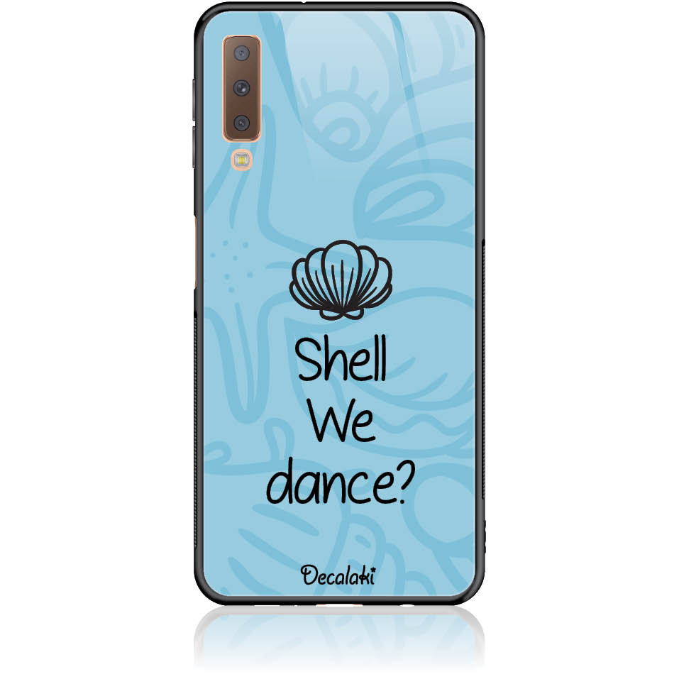 Sell We Dance Phone Case Design 50118  -  Samsung A7 2018 (a750)  -  Tempered Glass Case
