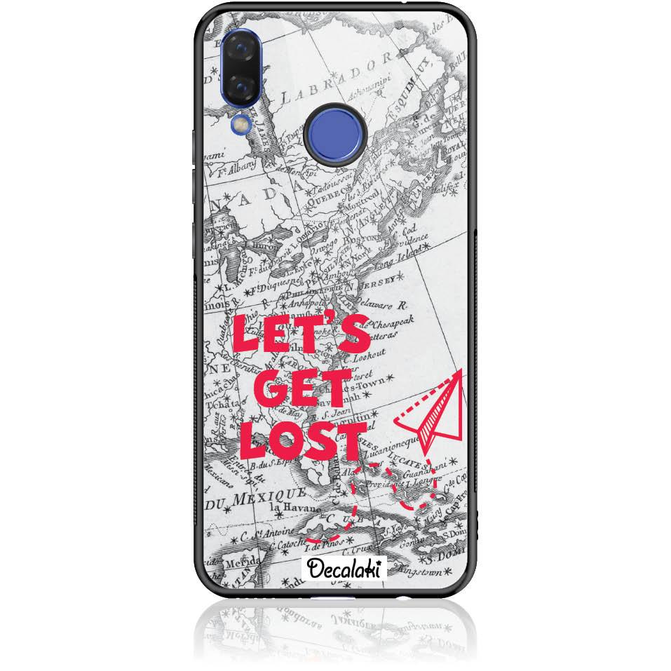 Case Design 50163  -  Huawei Nova 3  -  Tempered Glass Case