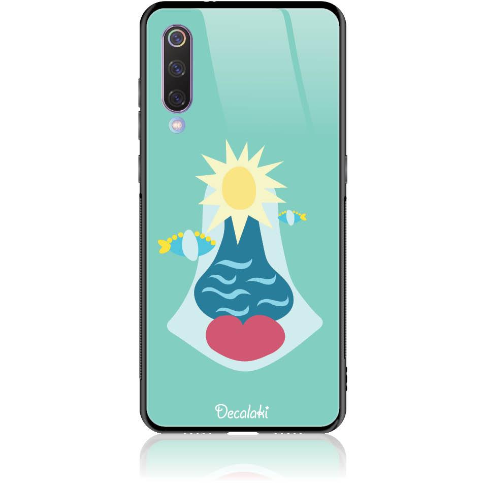Summer Queen Phone Case Design 50167  -  Xiaomi Mi 9  -  Tempered Glass Case
