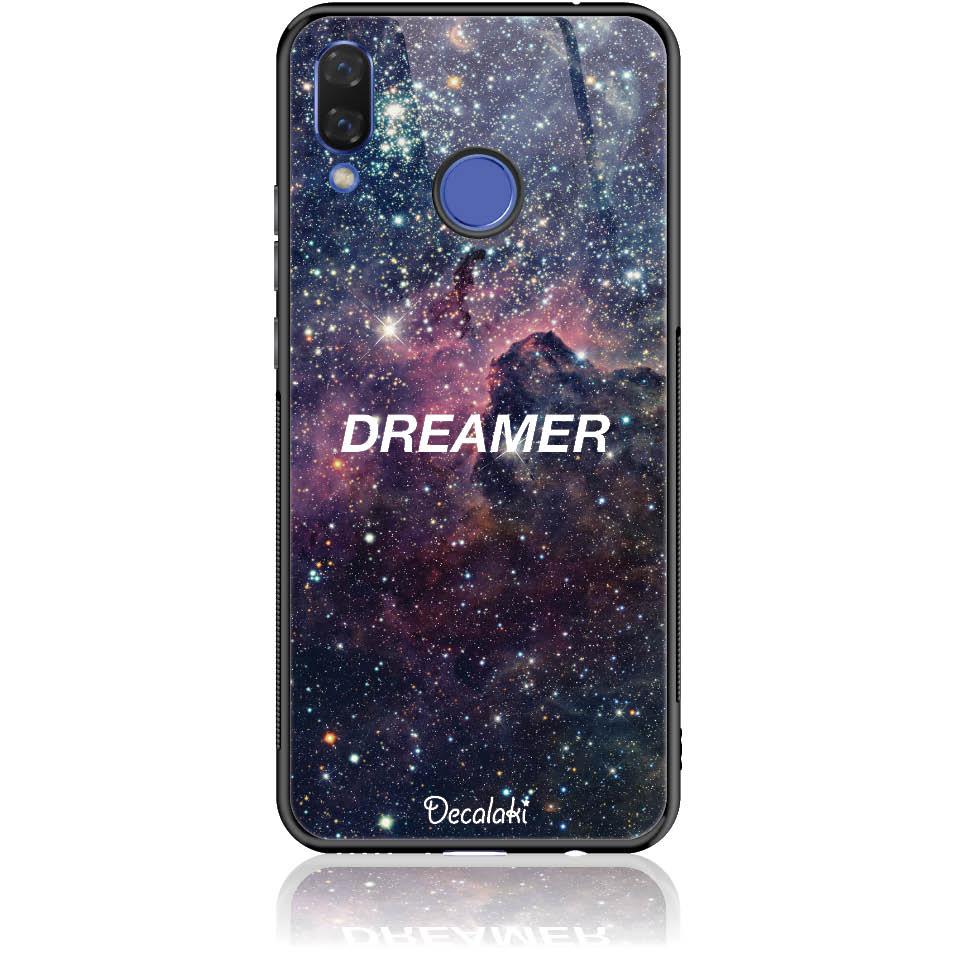 Dreamer Night Sky Phone Case Design 50181  -  Huawei Nova 3  -  Tempered Glass Case