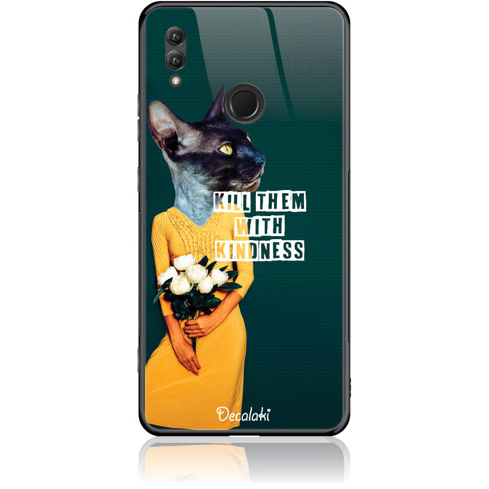 Case Design 50195  -  Honor Note 10  -  Tempered Glass Case