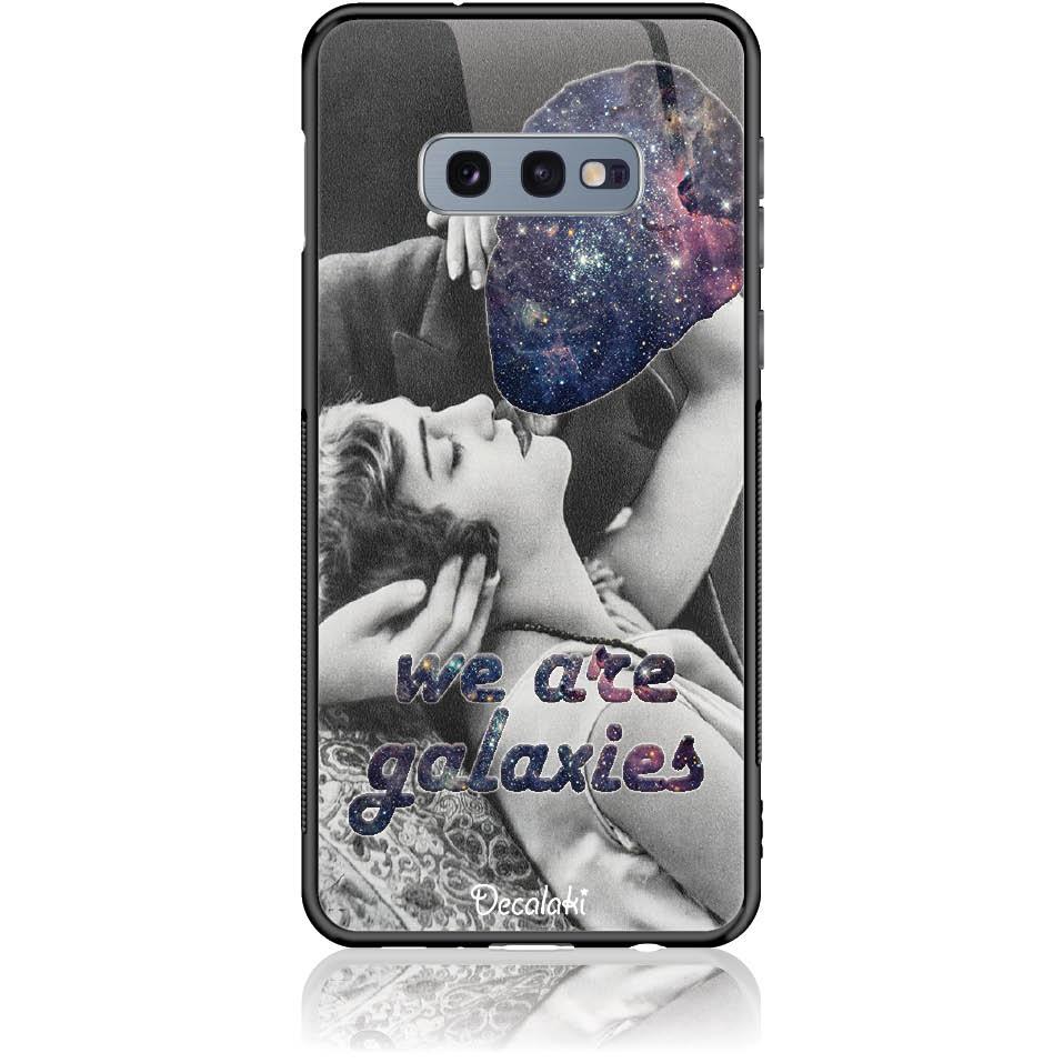 Case Design 50197  -  Samsung S10e  -  Tempered Glass Case