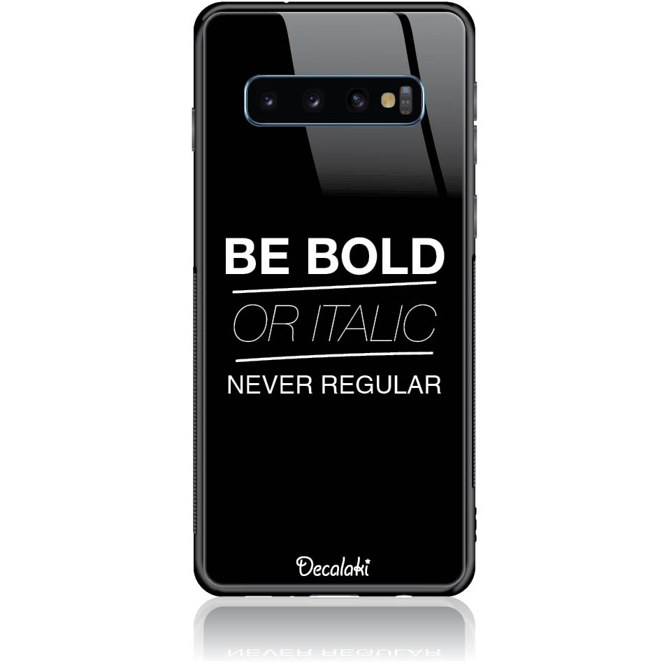 Case Design 50204  -  Samsung S10  -  Tempered Glass Case