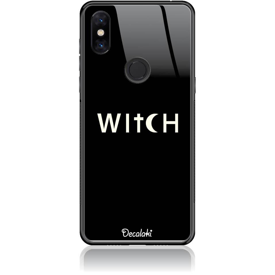 Witch Black Phone Case Design 50235  -  Xiaomi Mi Mix 3  -  Tempered Glass Case